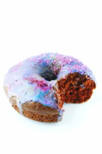 delicious galaxy donuts