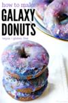 Galaxy donuts short pin