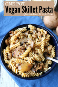 vegan skillet pasta short pin