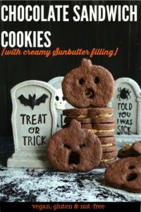 Pinterest Short Pin Chocolate Sandwich Cookies