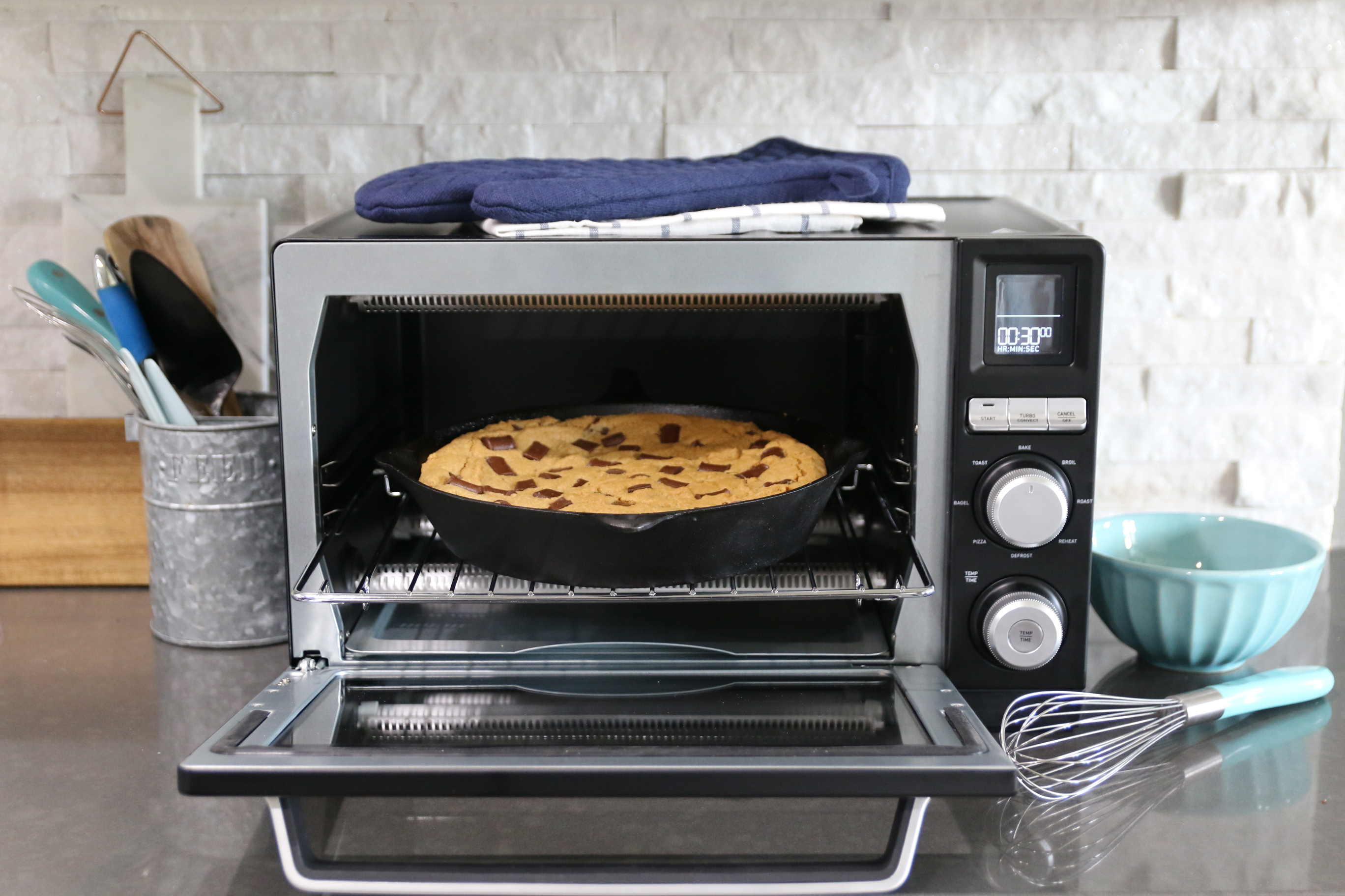 countertop calphalon convection oven