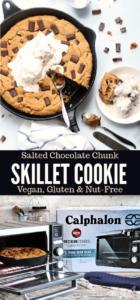 Skillet cookie long pin