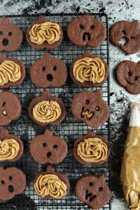SunButter Chocolate Sandwich Cookies