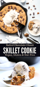 skillet cookie long pin