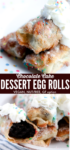Cake Dessert Egg Rolls long pin