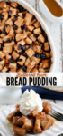 Bread pudding long pin