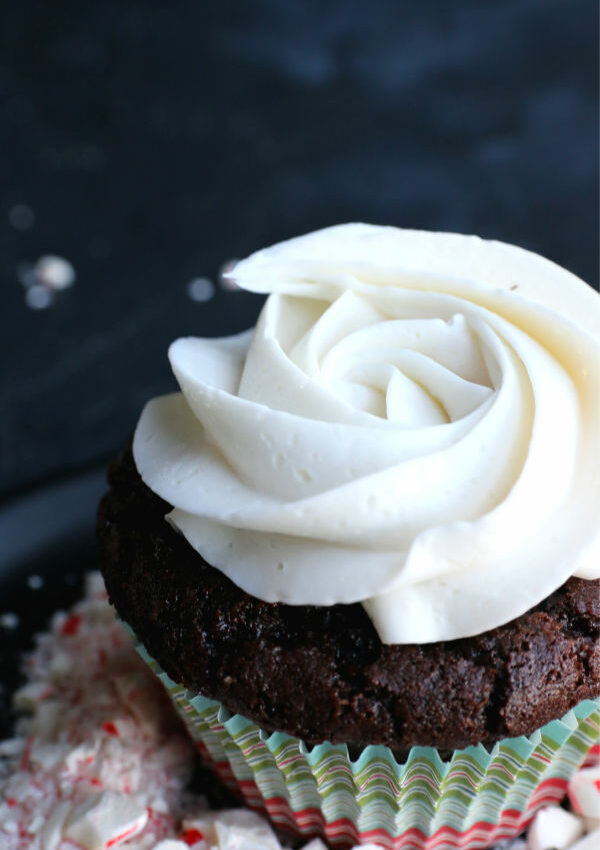 Dark Chocolate Cupcakes (v+gf)