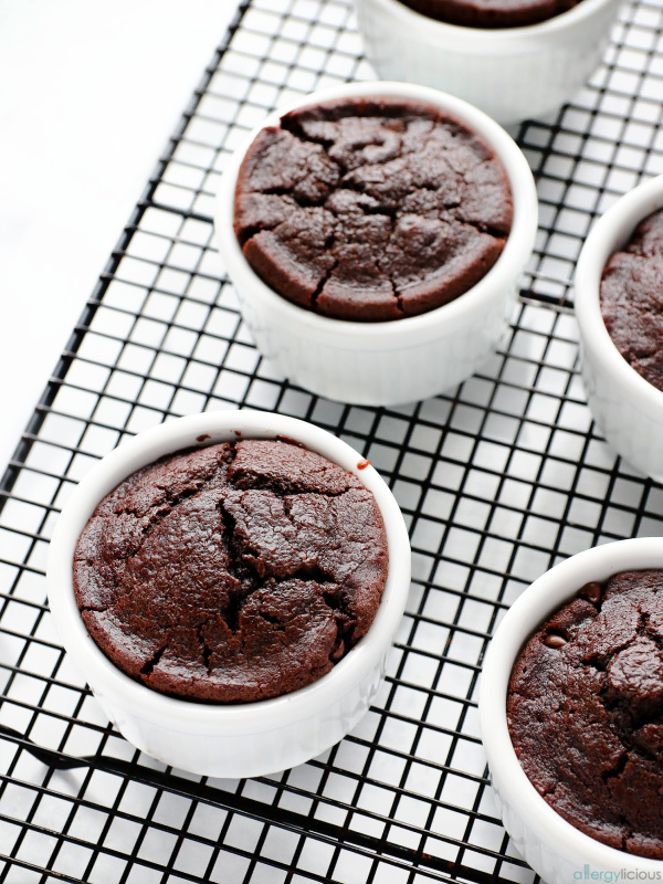 LAVA CAKE out of the oven