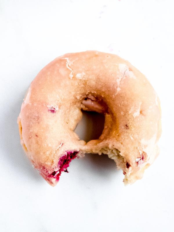 1 raspberry donut