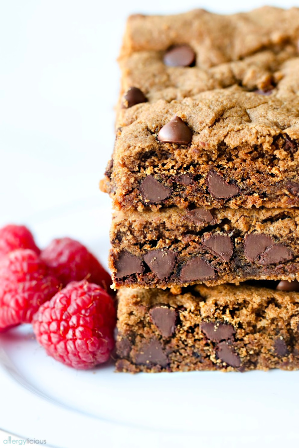 yummy vegan blondie recipe