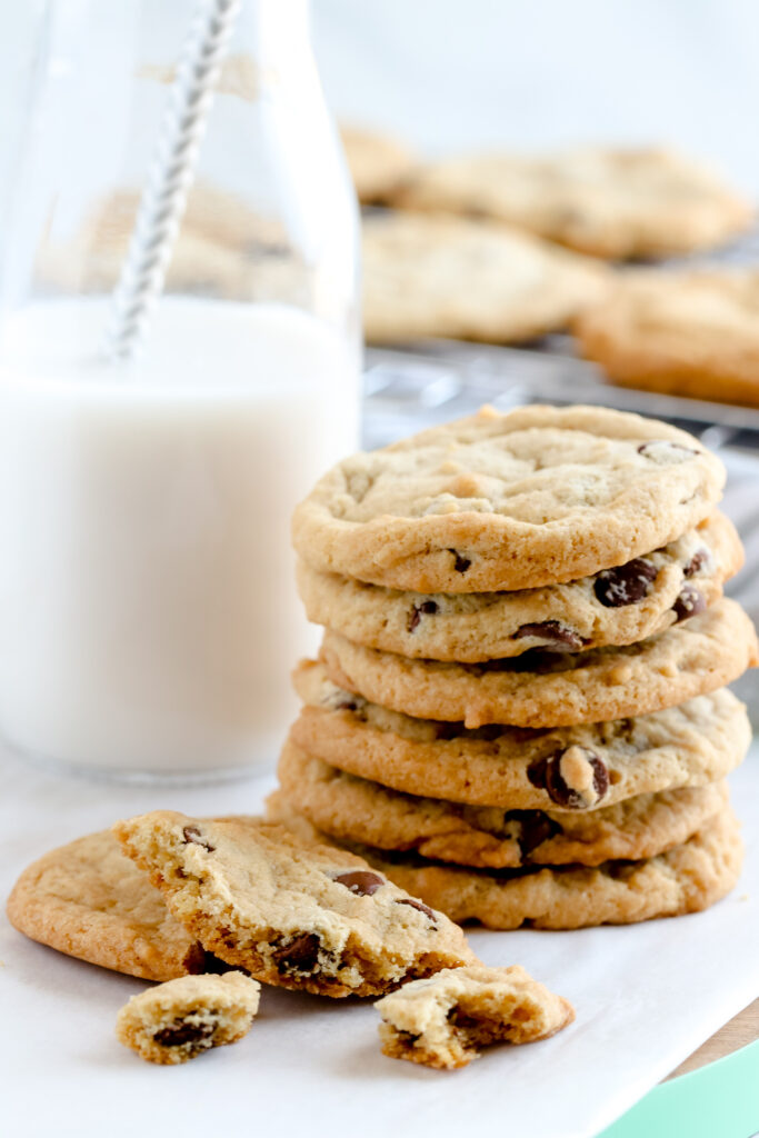 Delicious vegan and gluten free chocolate chip cookies