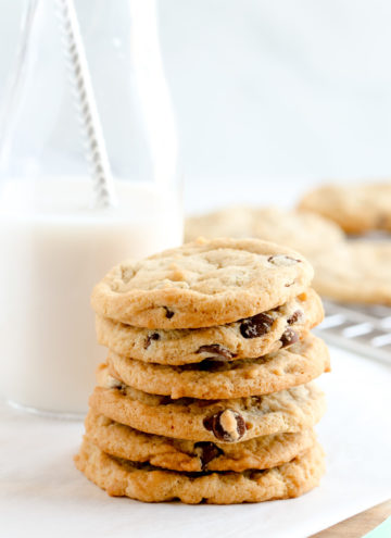 pretty vegan chocolate chip cookies