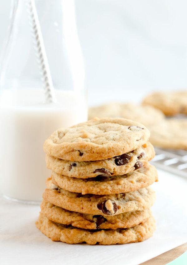 Amazing Vegan Gluten-free Chocolate Chip Cookies