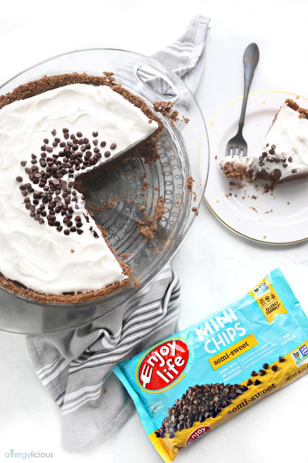 yummy vegan chocolate cream pie