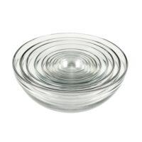 Glass Mixing Bowl Set