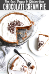Vegam Gluten-free chocolate cream pie