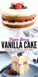 pinterest vanilla cake image