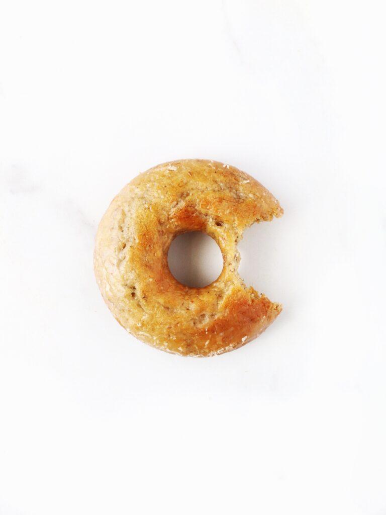 bitten banana donut gluten free vegan