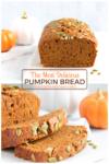 moist vegan pumpkin bread