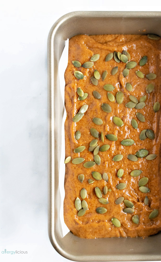read to bake vegan pumpkin bread