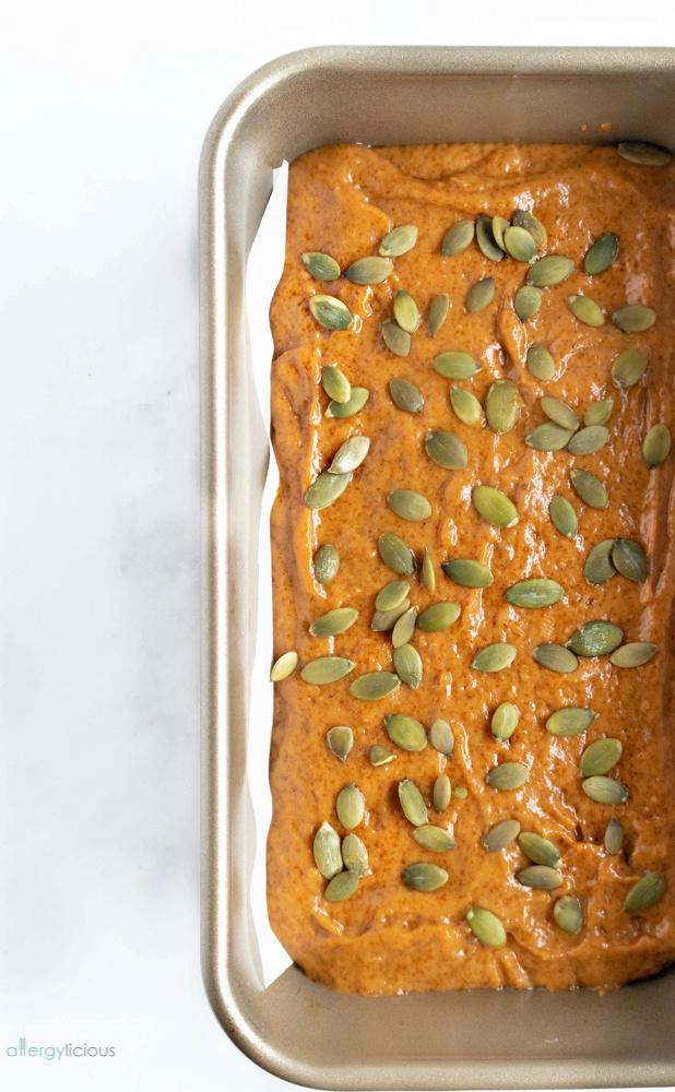 read to bake vegan pumpkin bread