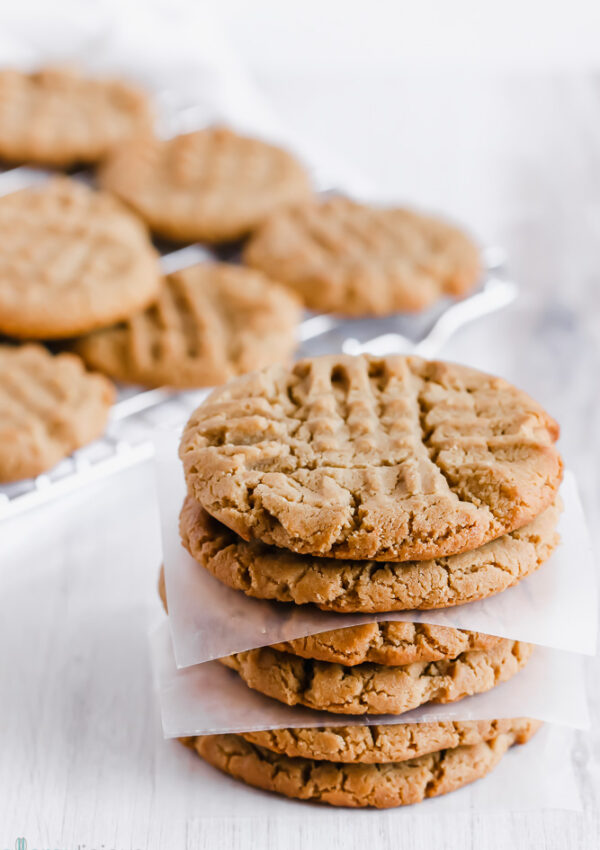 "Nut-Free ""Peanut Butter"" Cookies with SunButter"