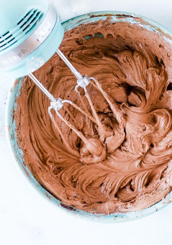 Ultimate Vegan Chocolate Buttercream Frosting