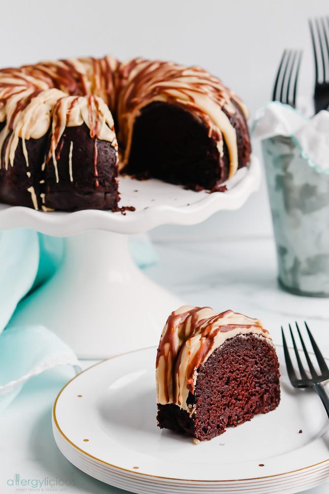 Espresso Bundt Cake Vegan