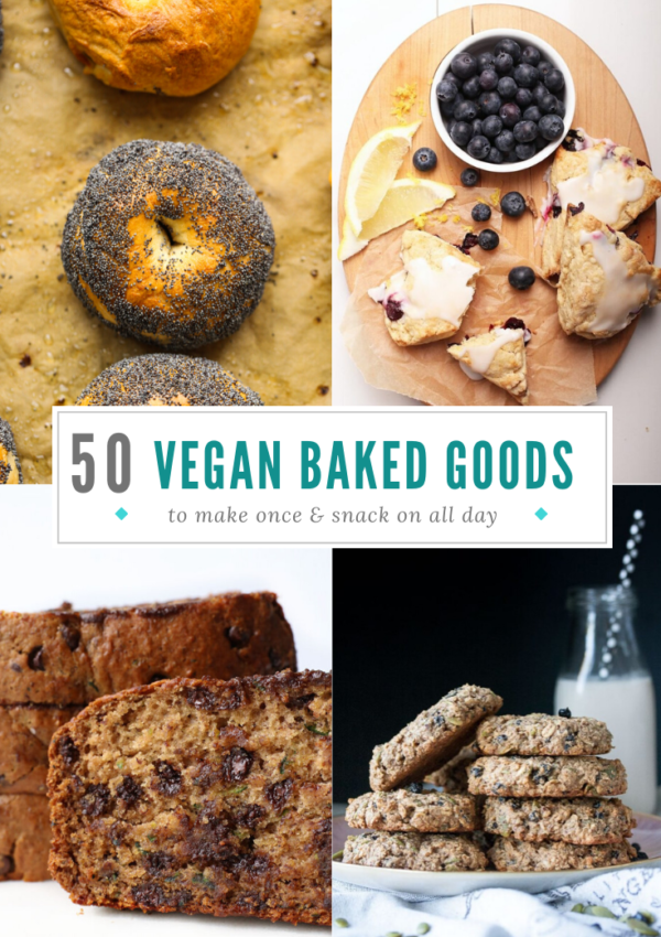 50 Delicious Vegan Baked Goods