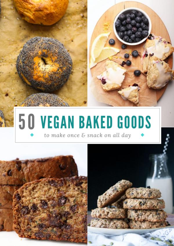 50 Delicious Vegan Baked Goods