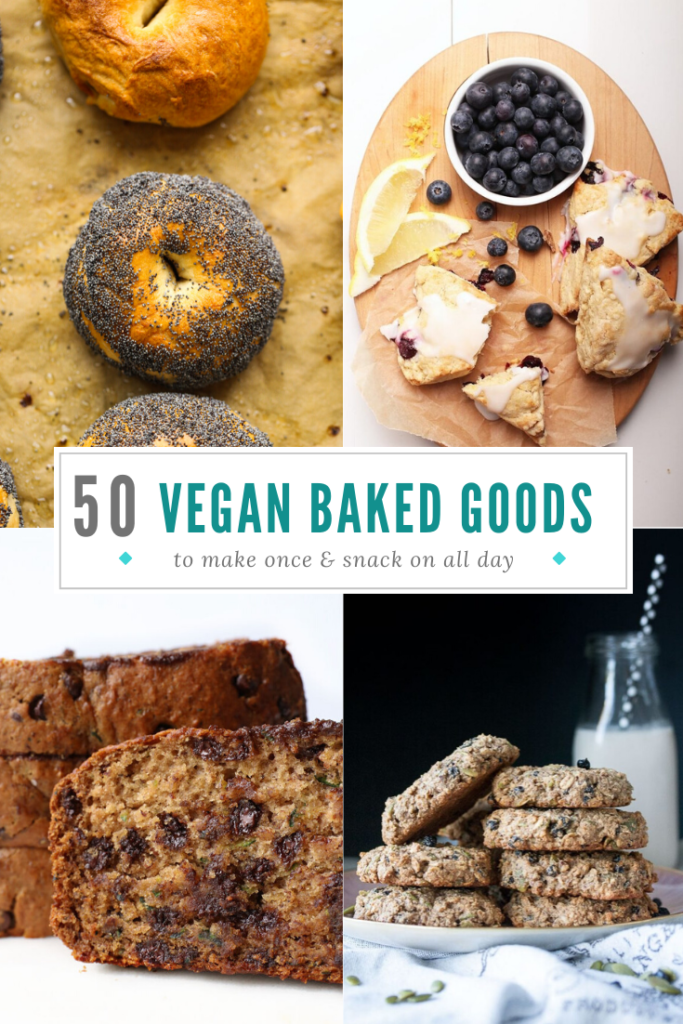 Here are 50 vegan baked goods you can make for breakfast and snack on for days! So crank up your oven and let's get baking.