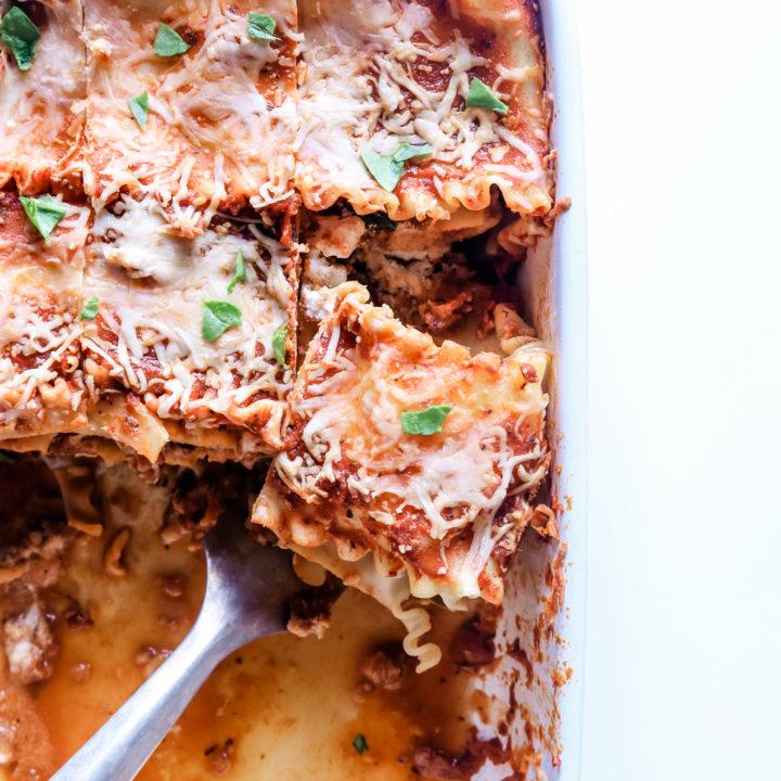 No Fuss Vegan Lasagna