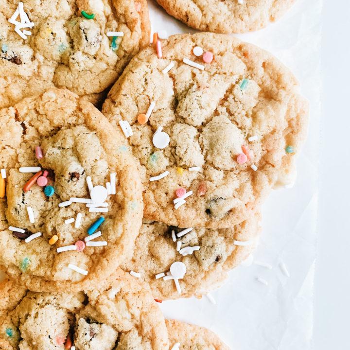 Funfetti Chocolate Chip Cookie