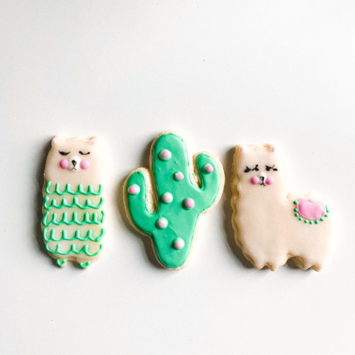 Decorated Sugar Cookie Cut-Outs (V+GF)