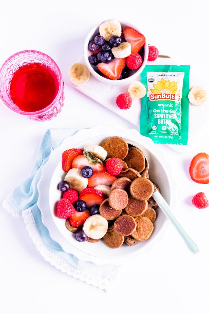 Vegan Pancake Cereal