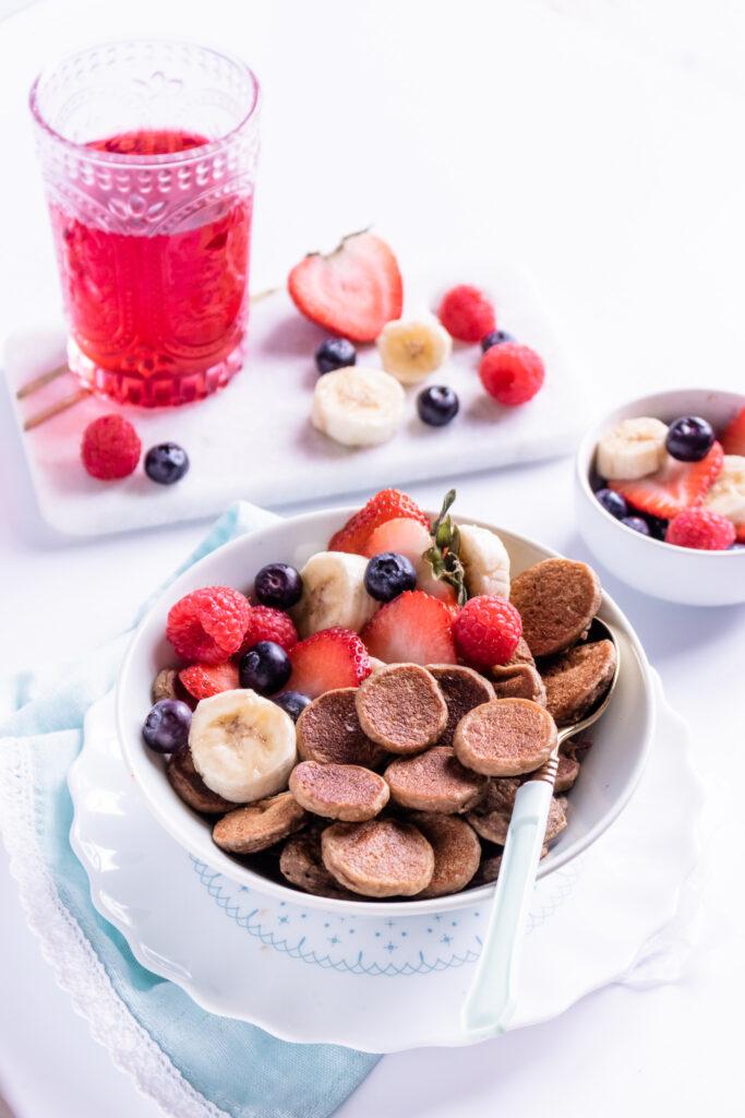 Vegan #PancakeCereal