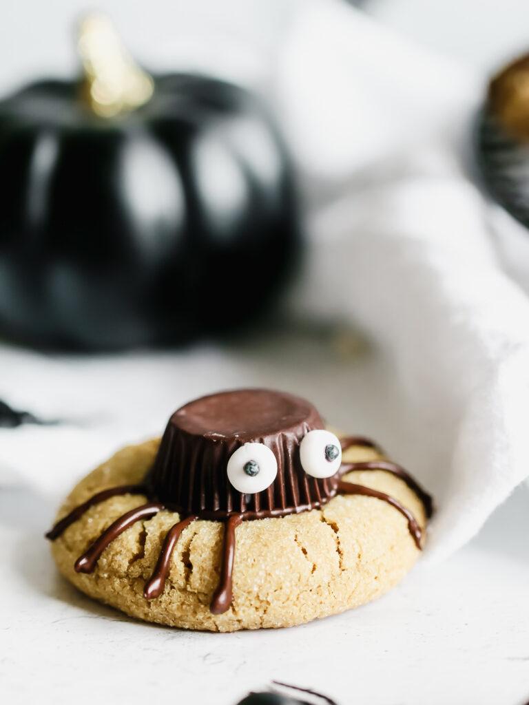 Vegan spider Cookies