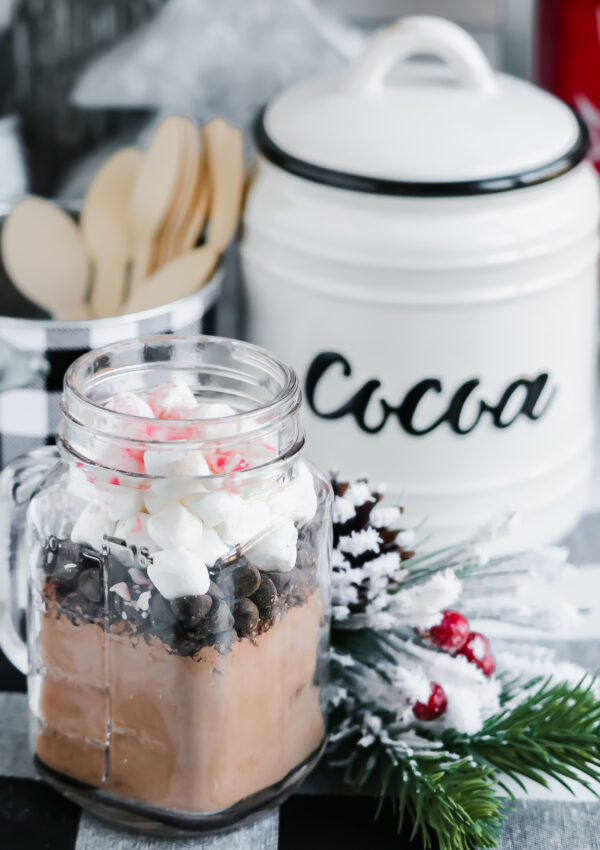 The Best Vegan Hot Chocolate Mix (With Cocoa Bar)