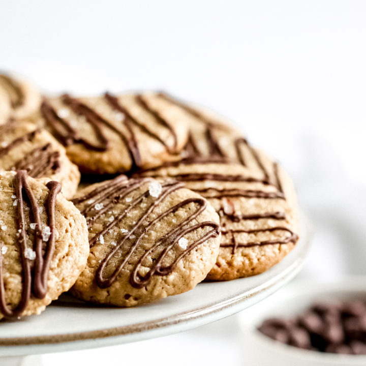 Easy Sunflower Butter Cookies (nut-free, vegan)