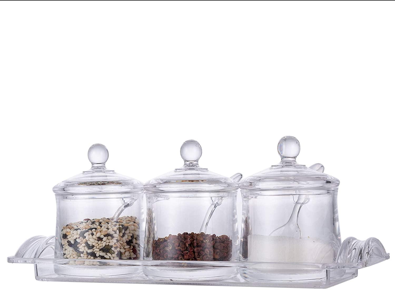 Toppings Jars