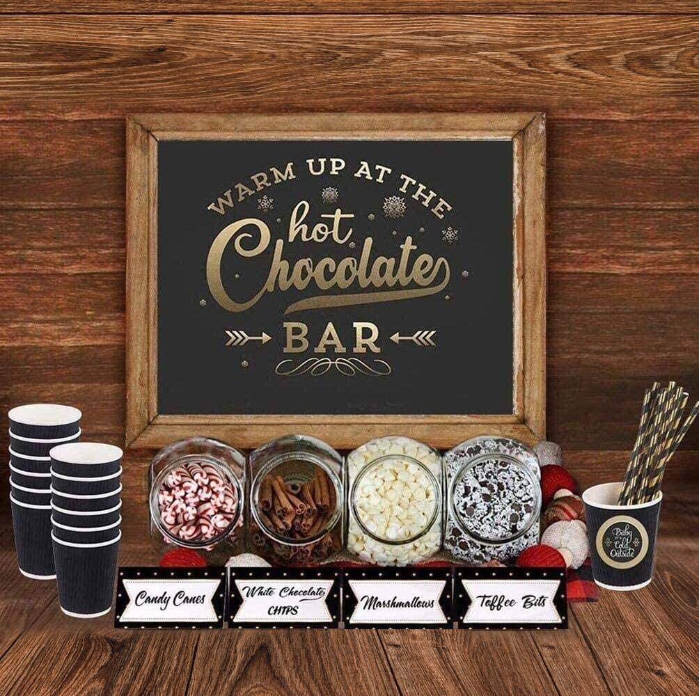 Hot Cocoa Bar Signs