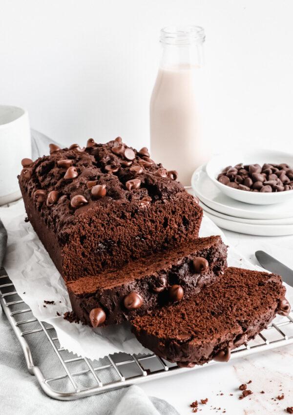 Vegan Chocolate Banana Bread | How to Make