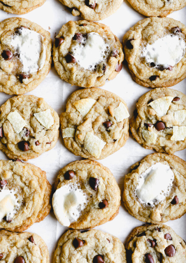 The Best Chocolate Chip Cookies with Coconut Oil