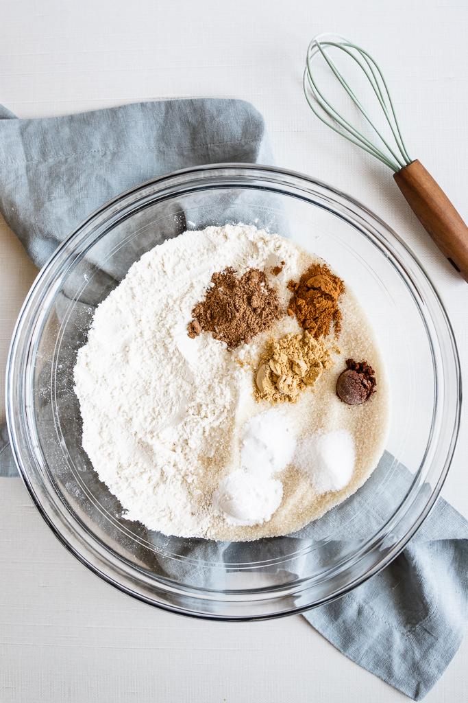 Biscoff cupcake ingredients