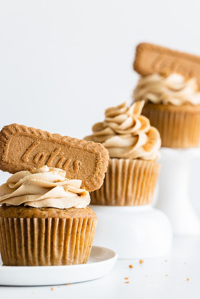 best Pumpkin Biscoff Cupcake