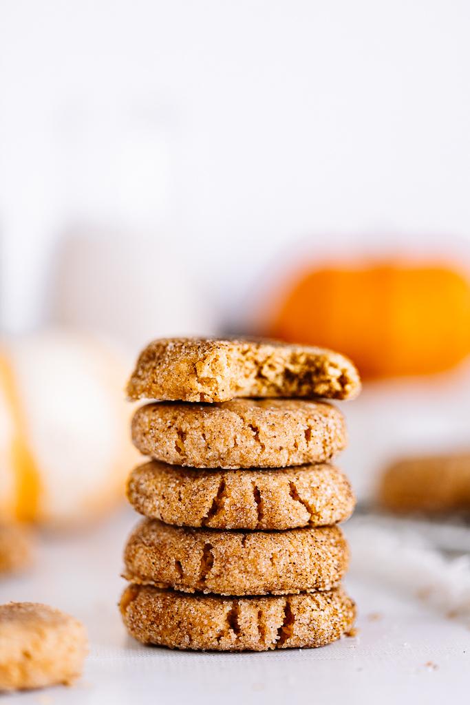 The Best Vegan Pumpkin Snickerdoodles